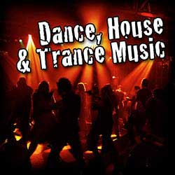 Dance house trance music royalty free music sound for House music sounds