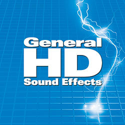 The General HD Sound Effects Collection on Hard Drive