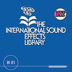 Series 1000 Sound Effects Library | Sound Ideas | Sound